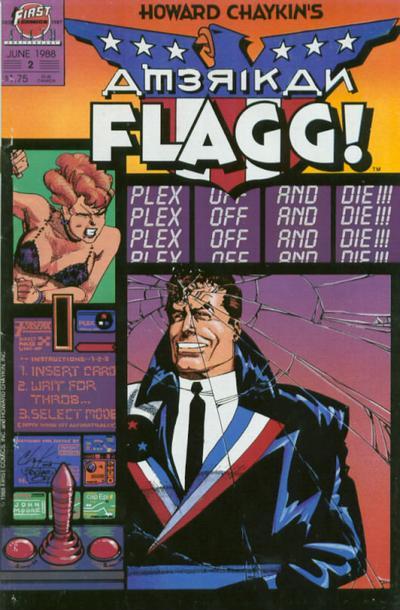 Howard Chaykin's American Flagg Vol 1 2