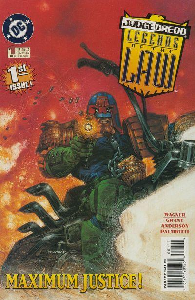 Judge Dredd: Legends of the Law Vol 1