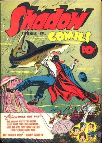 Shadow Comics Vol 1 12