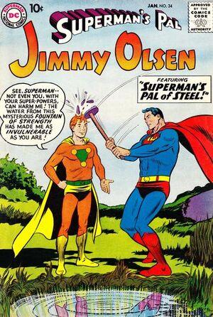 Superman's Pal, Jimmy Olsen Vol 1 34.jpg