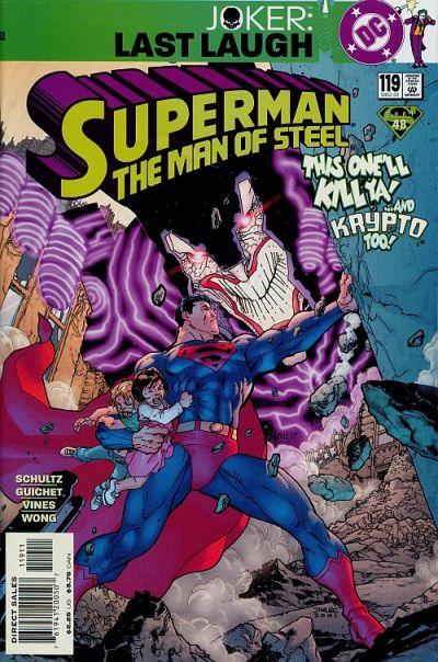 Superman: Man of Steel Vol 1 119