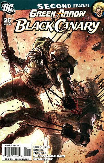 Green Arrow and Black Canary Vol 1 26
