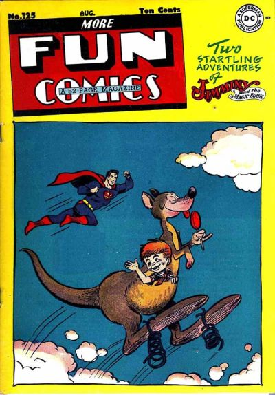 More Fun Comics Vol 1 125
