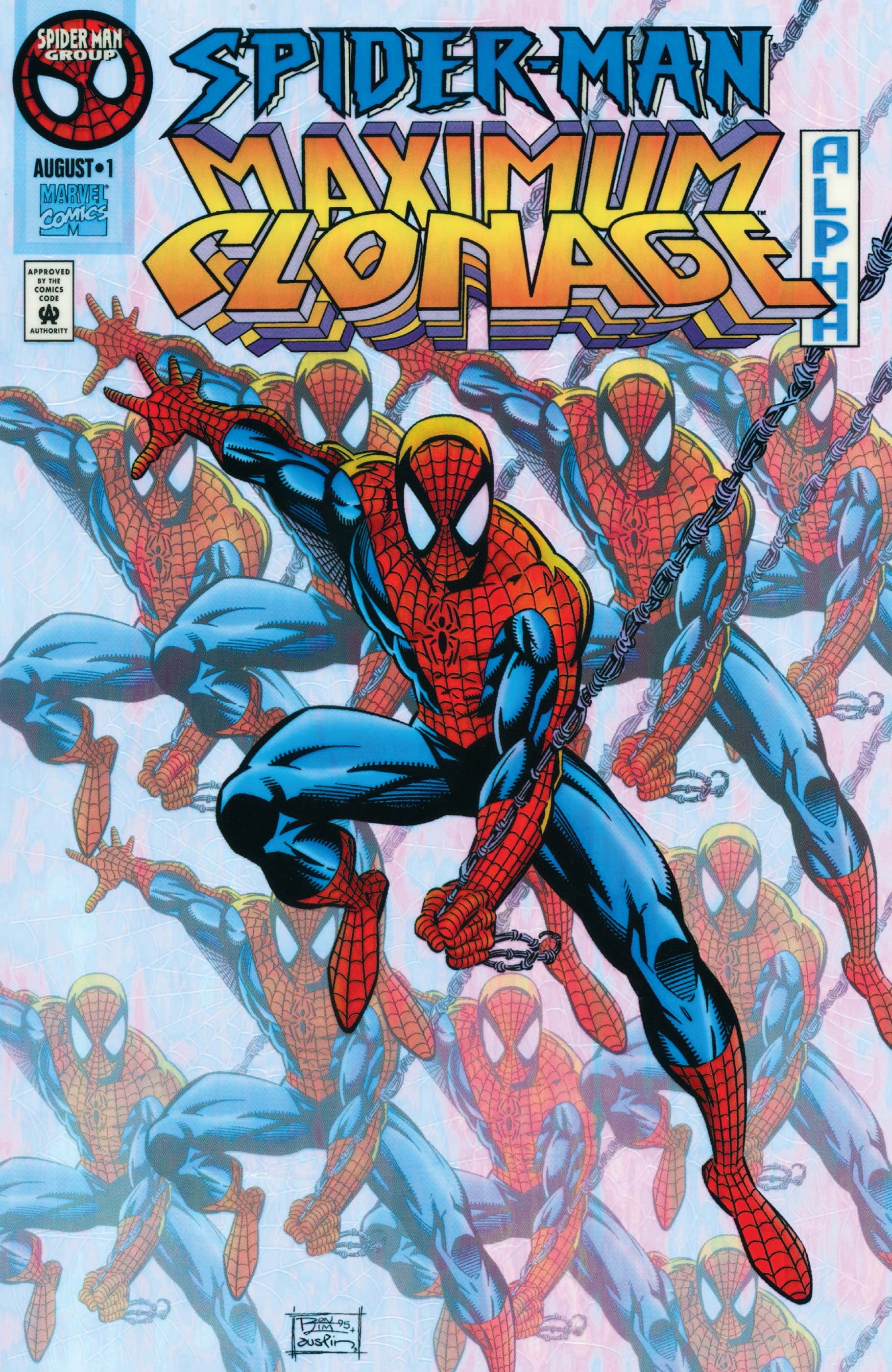 Spider-Man: Maximum Clonage Vol 1 Alpha
