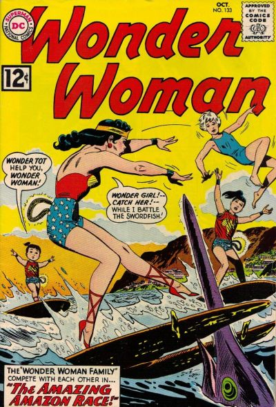 Wonder Woman Vol 1 133