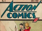 Action Comics Vol 1 2