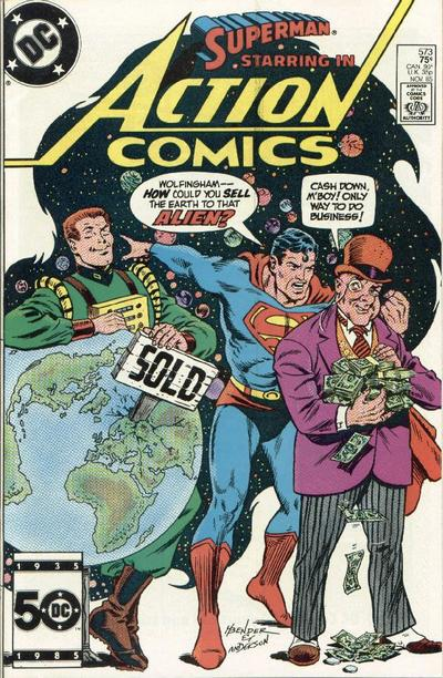 Action Comics Vol 1 573