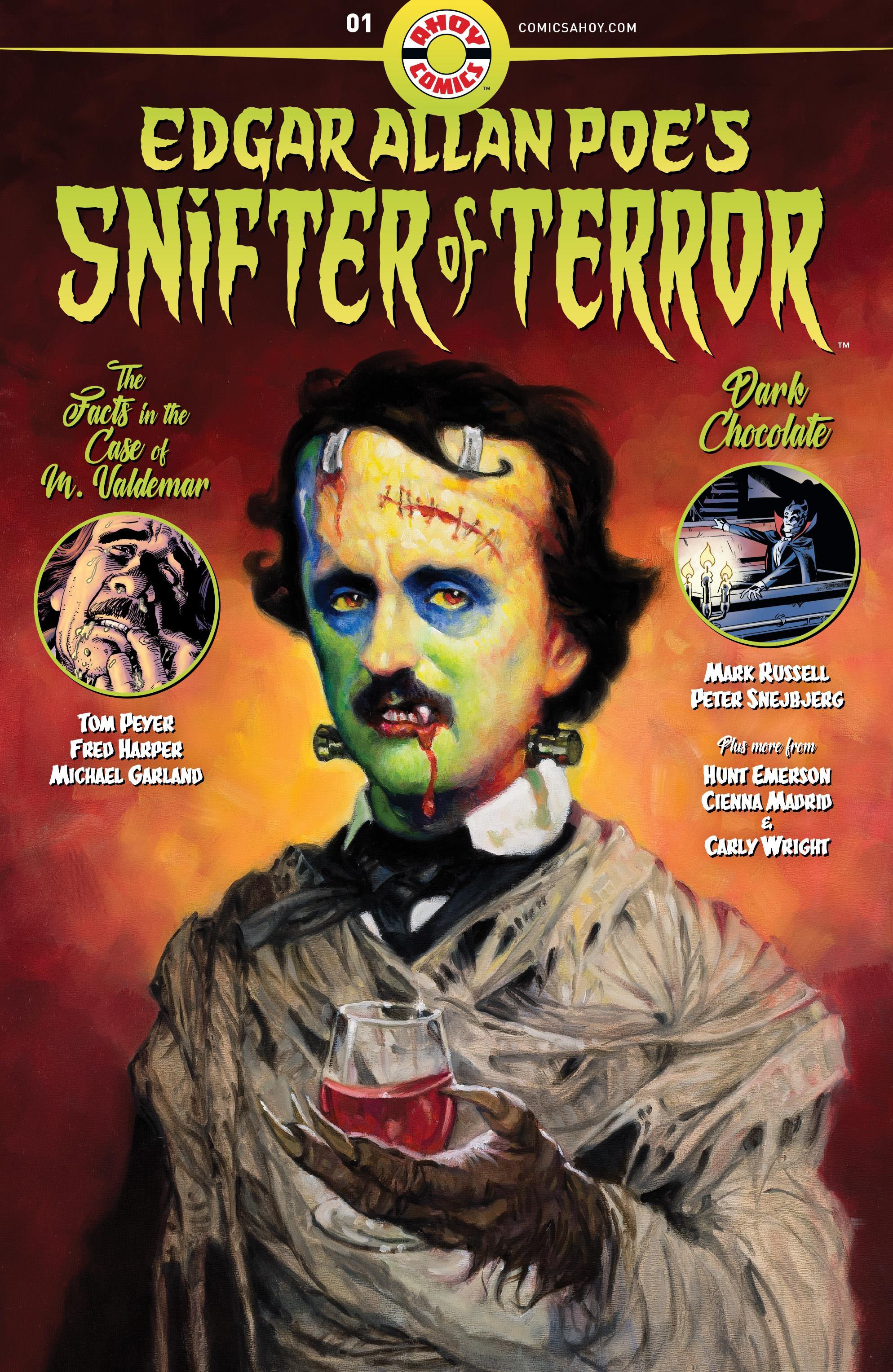 Edgar Allan Poe's Snifter of Terror Vol 1