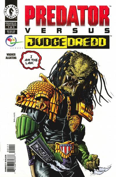 Predator vs. Judge Dredd Vol 1 1