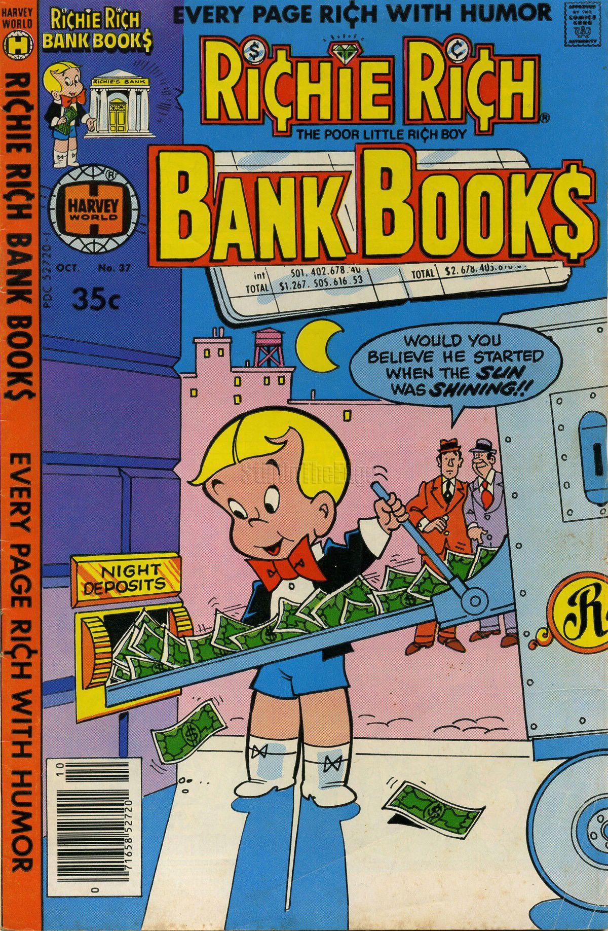 Richie Rich Bank Books Vol 1 37