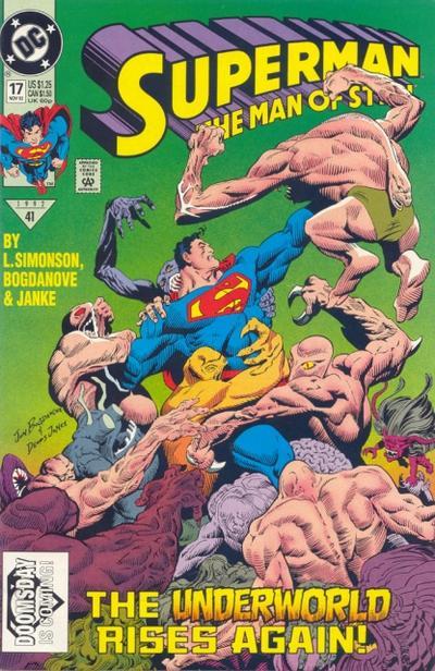 Superman: Man of Steel Vol 1 17