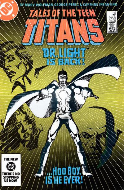 Tales of the Teen Titans Vol 1 49