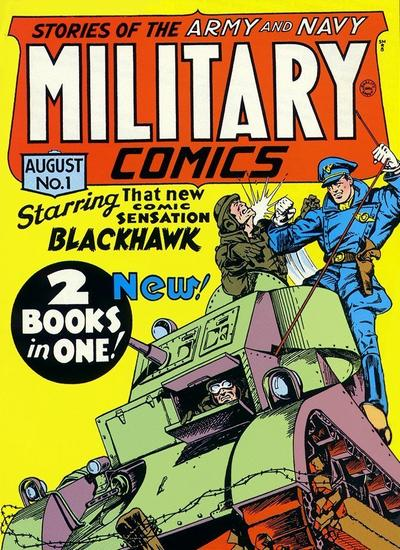 Military Comics/Covers