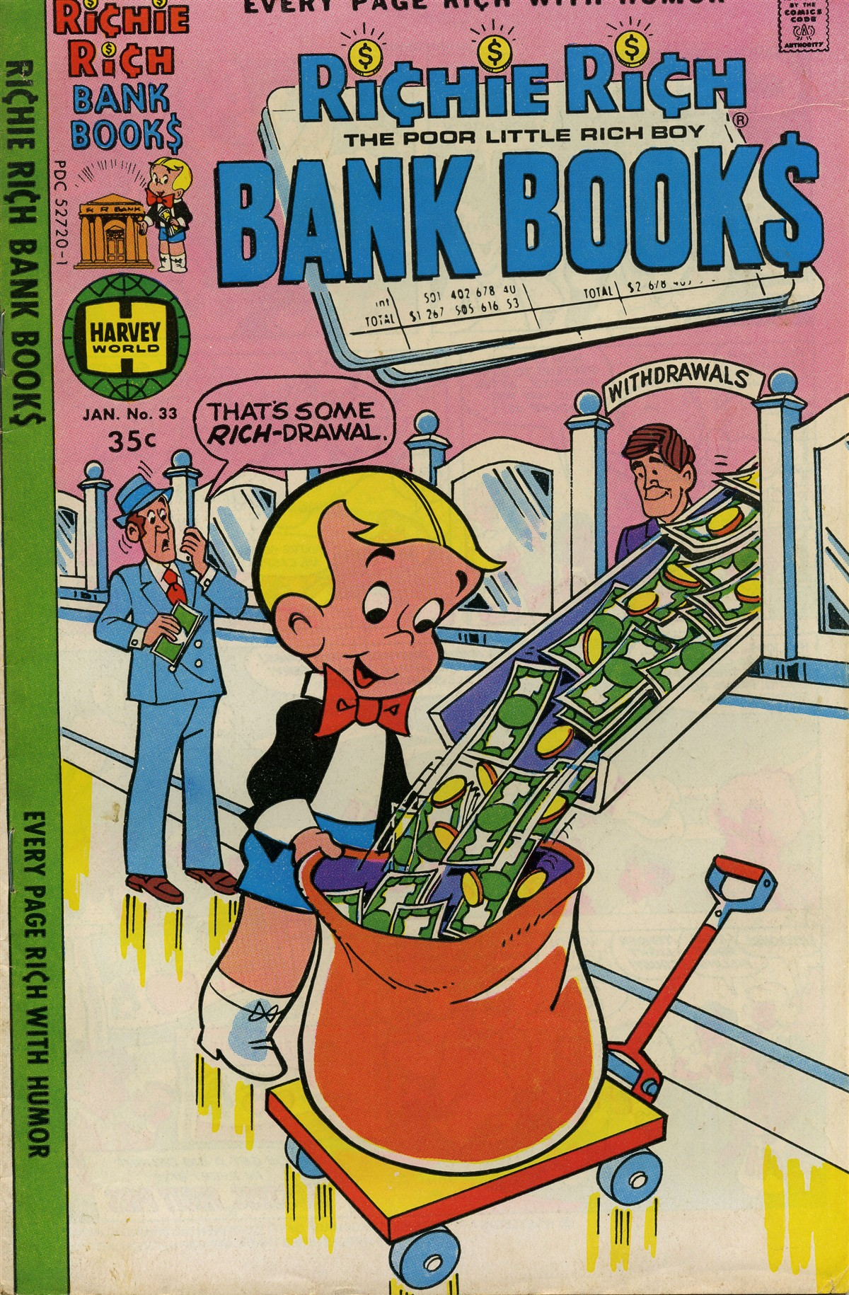 Richie Rich Bank Books Vol 1 33