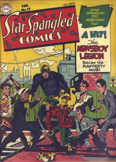 Star-Spangled Comics Vol 1 17