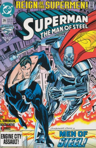 Superman: Man of Steel Vol 1 26