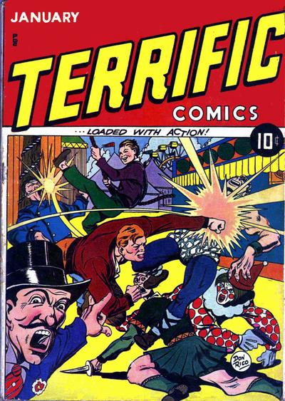 Terrific Comics Vol 1
