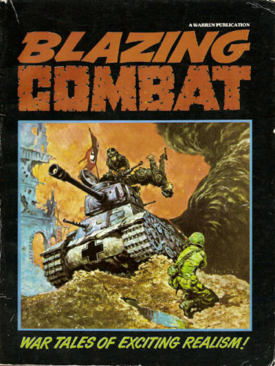 Blazing Combat Vol 2 1