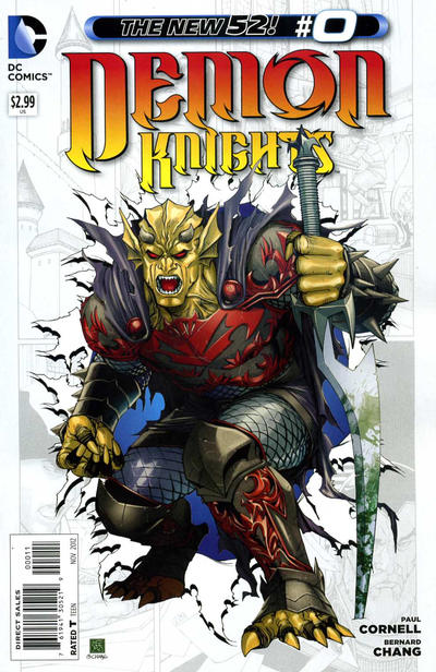 Demon Knights Vol 1 0