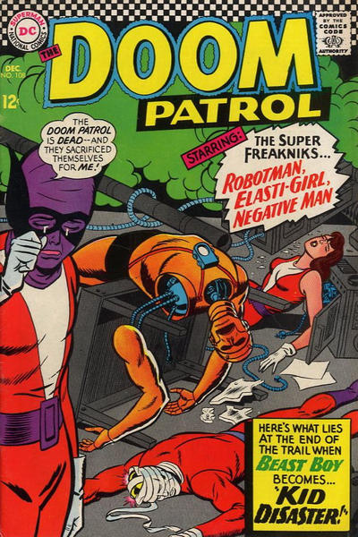 Doom Patrol Vol 1 108