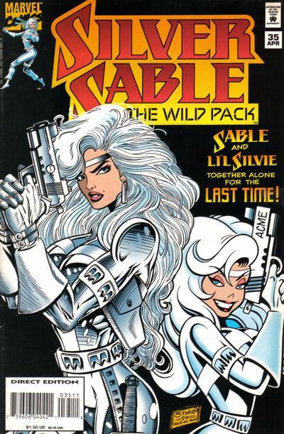 Silver Sable Vol 1 35
