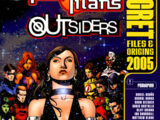 Teen Titans/Outsiders Secret Files and Origins Vol 1 2005
