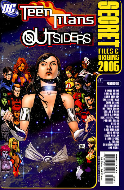 Teen Titans/Outsiders Secret Files and Origins Vol 1 2005