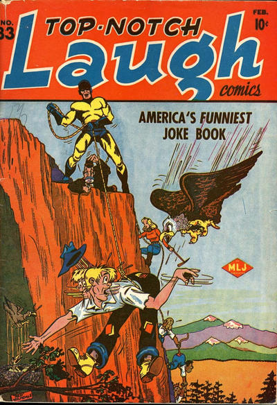 Top-Notch Laugh Comics Vol 1 33