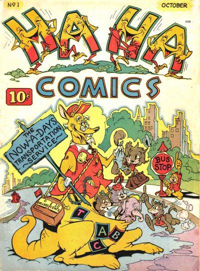 Ha Ha Comics Vol 1 1