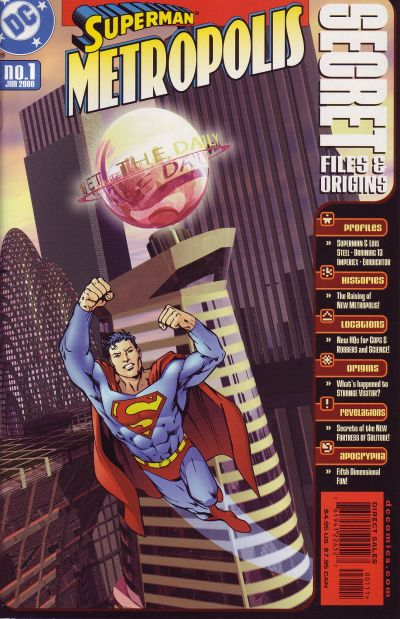 Superman Metropolis Secret Files and Origins Vol 1 1