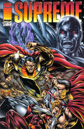 Cover for Supreme #27 (1995)