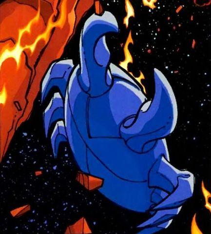 Blue Beetle Scarab