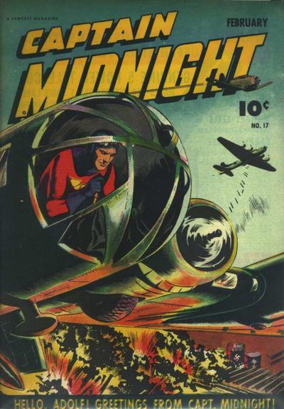 Captain Midnight Vol 1 17