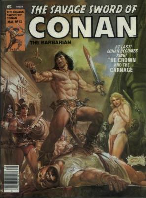Savage Sword of Conan Vol 1 52