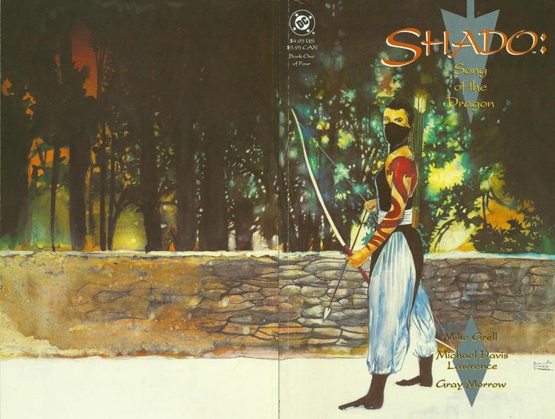 Shado: Song of the Dragon Vol 1 1
