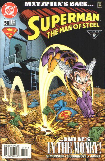 Superman: Man of Steel Vol 1 56