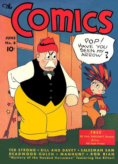 The Comics Vol 1 8