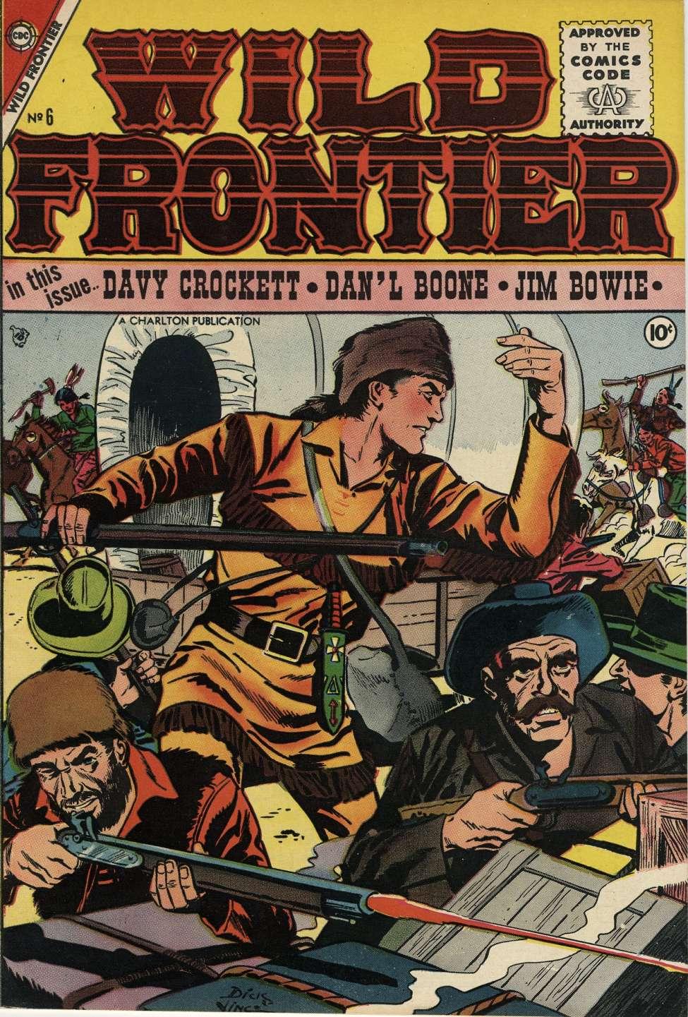 Wild Frontier Vol 1 6