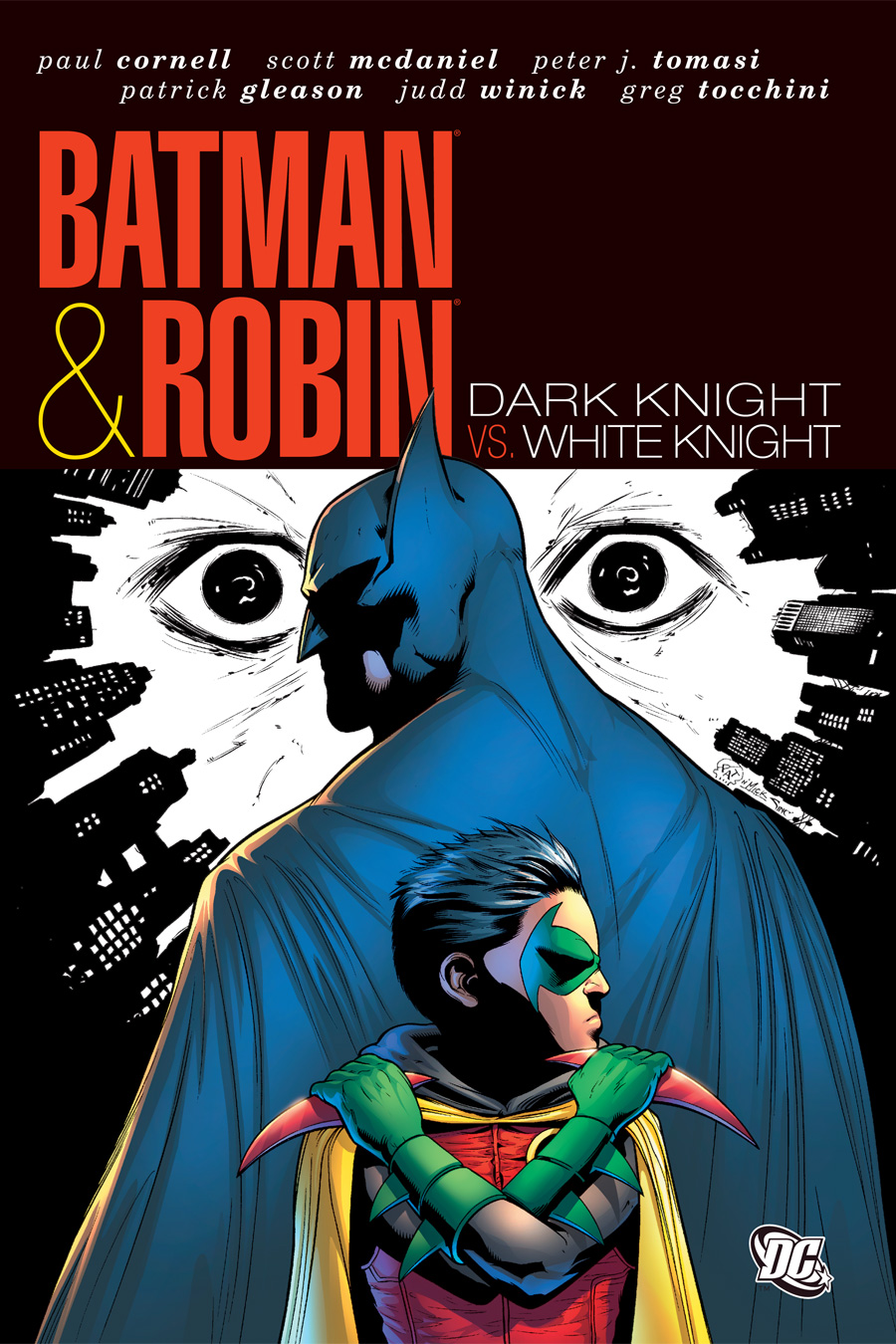 Batman and Robin: Dark Knight vs. White Knight (Collected)