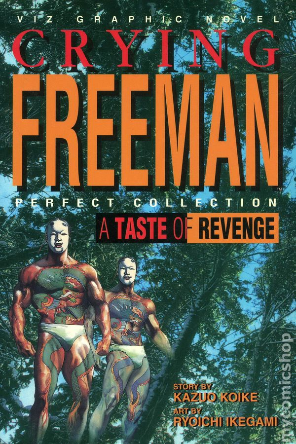 Crying Freeman: A Taste of Revenge