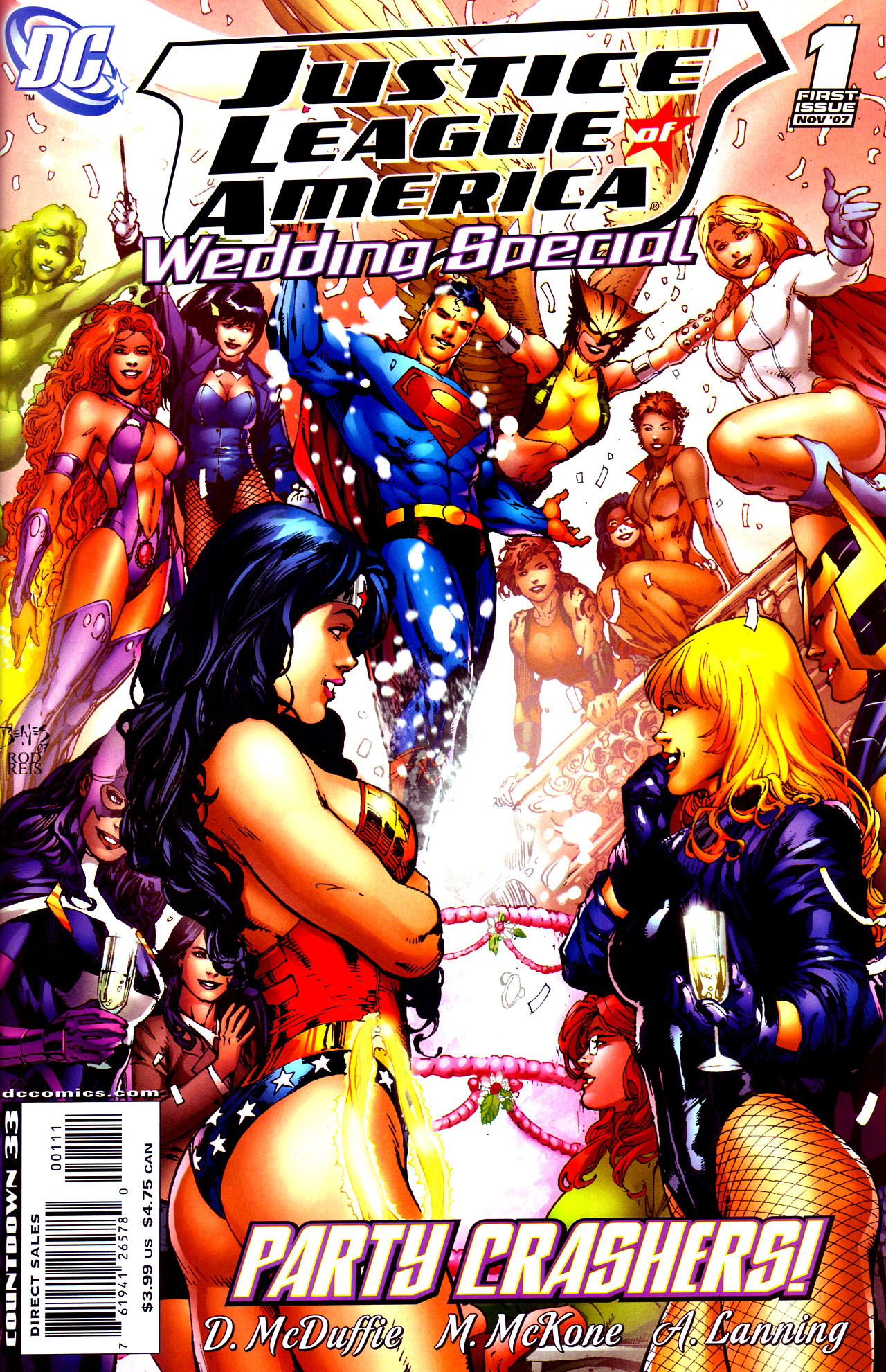 Justice League of America Wedding Special Vol 1 1