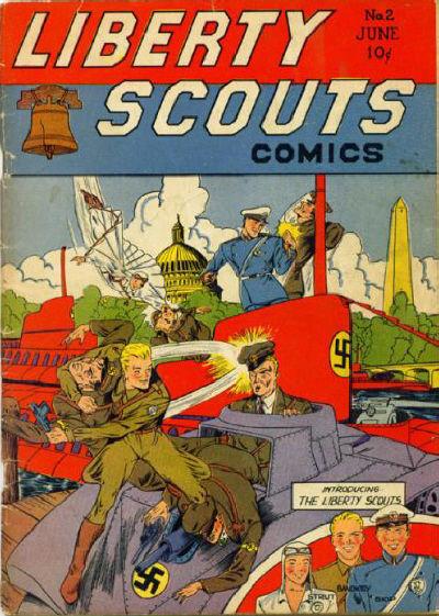 Liberty Scouts Comics Vol 1 2