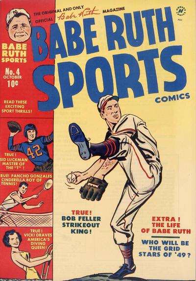 Babe Ruth Sports Comics Vol 1 4