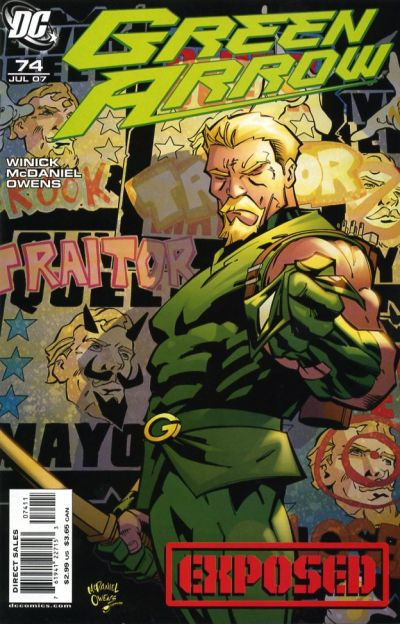 Green Arrow Vol 3 74