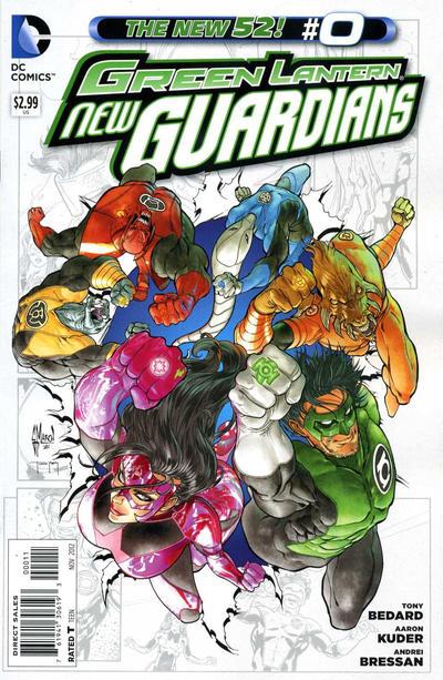 Green Lantern: New Guardians Vol 1 0