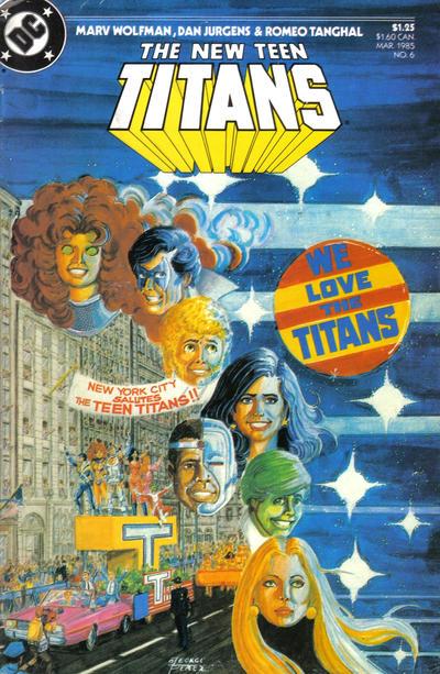 New Teen Titans Vol 2 6
