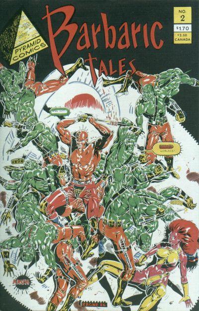 Barbaric Tales Vol 1 2