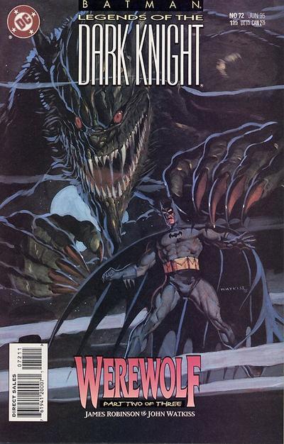 Batman: Legends of the Dark Knight Vol 1 72