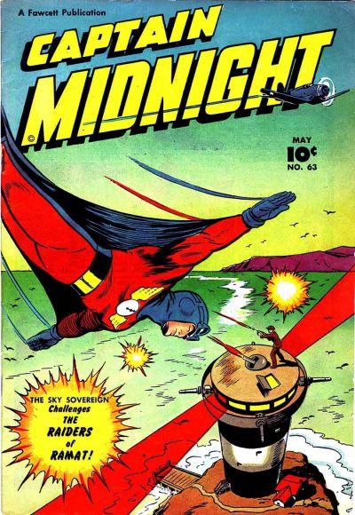 Captain Midnight Vol 1 63