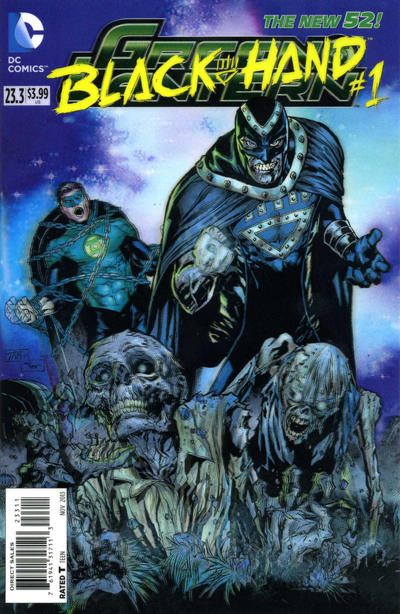 Green Lantern Vol 5 23.3: Black Hand